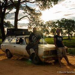 Otávio Lino e Marcio Sanches no Pantanal