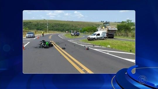 Empresário morre em acidente com moto em rodovia no interior de SP