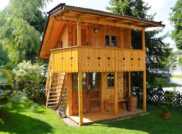 Casa na Árvore, Baviera, Alemanha (Foto: Airbnb/Reprodução)
