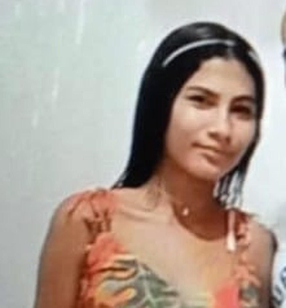 Maria Letícia da Costa, de 15 anos foi morta a tiros pelo marido na cidade de Assu — Foto: reprodução