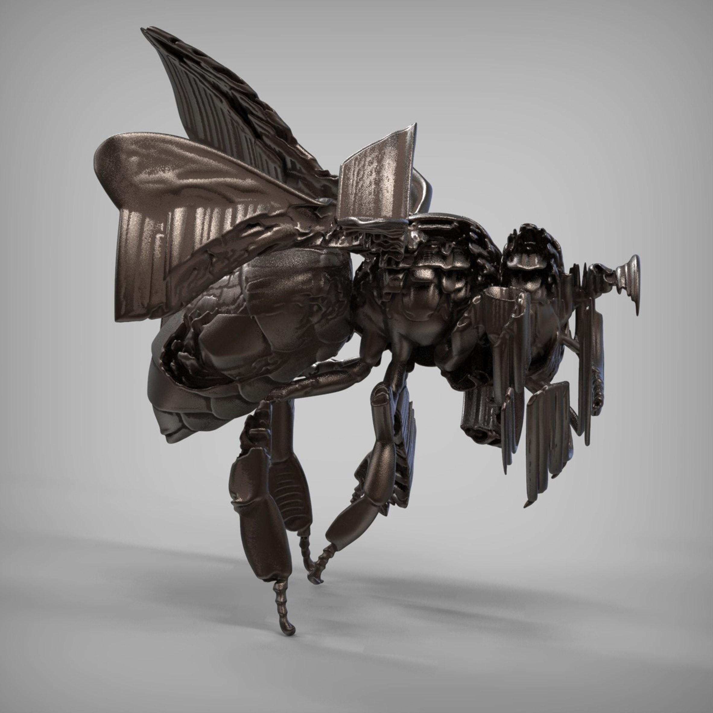 Primeira artista robô humanoide do mundo expõe obras no Reino Unido (Foto: Divulgação)