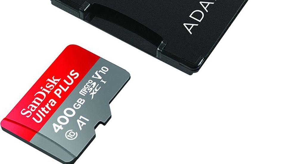 MicroSD da SanDisk é o maior do mundo com 400 GB (Foto: Divulgação/SanDisk)