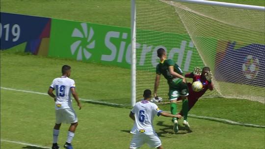 Faltaram equilíbrio e padrão ao Cruzeiro