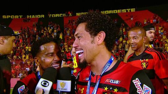 Feliz com fase e xodó da torcida do Sport, Ezequiel se autointitula craque do Pernambucano