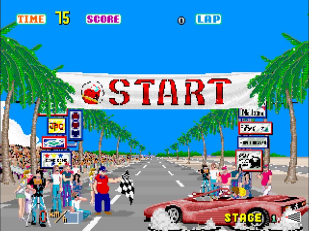 Out Run é o jogo de arcade mais visualizado no Internet Arcade (Foto: Flickr/Conor Lawless/Creative Commons)