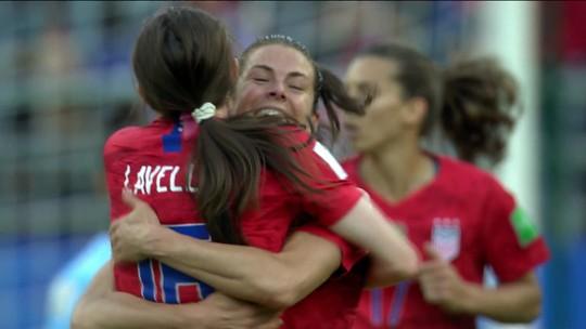 EUA aplicam a maior goleada da história de uma Copa do Mundo