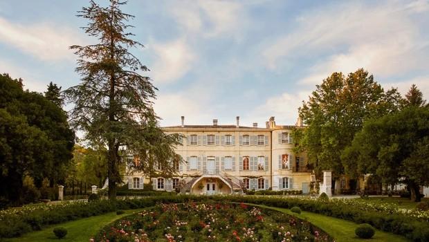 Castelo em Provence, na França (Foto: Divulgação/Airbnb)
