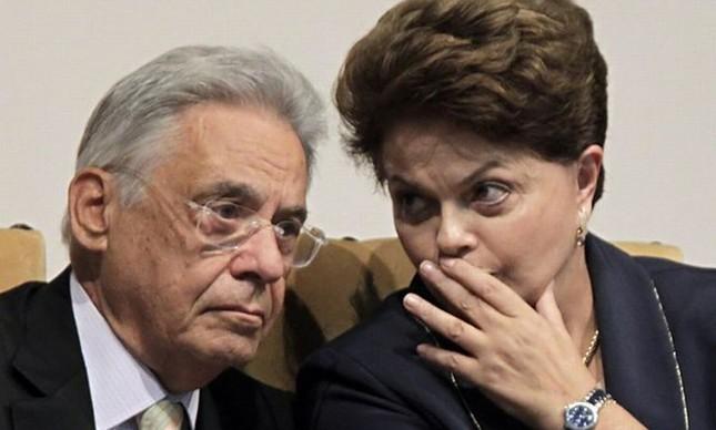 Fernando Henrique Cardoso e Dilma Rousseff (Foto: Divulgação)