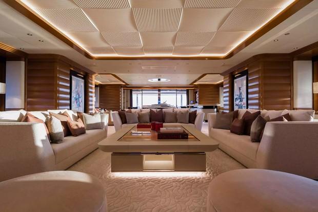 Iate alugado por Beyoncé (Foto: Reprodução/Imperial Yachts)