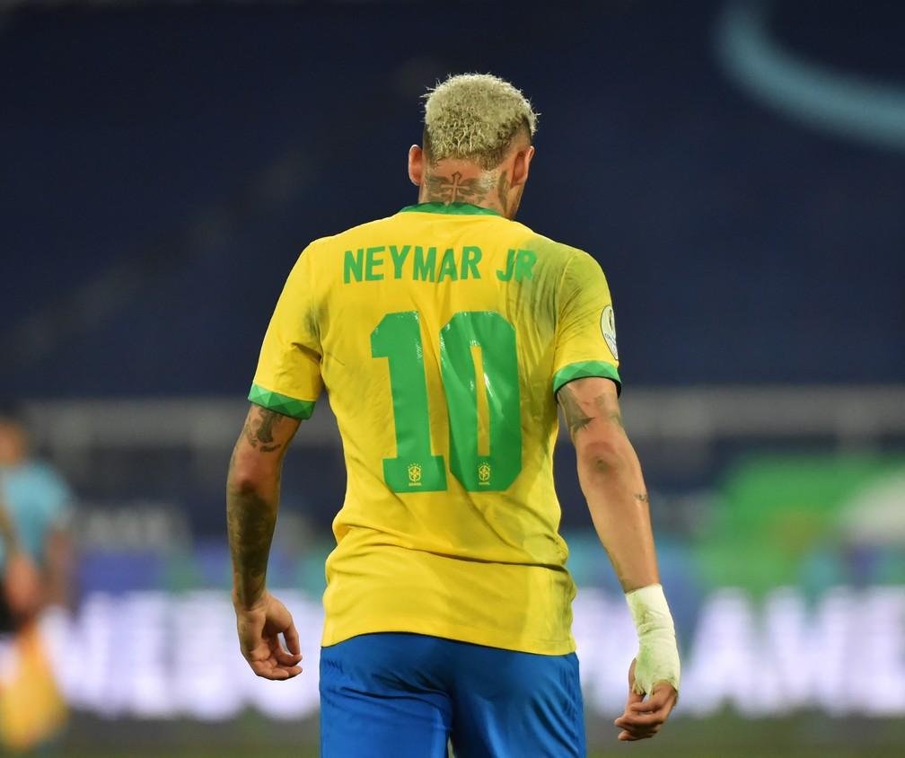 Neymar pode conquistar seu terceiro título no Maracanã com a Seleção — Foto: André Durão