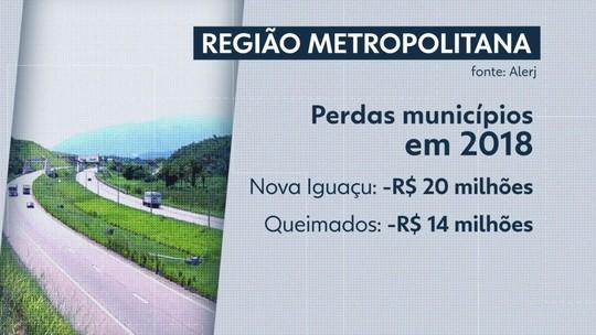 Projeto aprovado pela Alerj causa prejuízo para municípios da Baixada