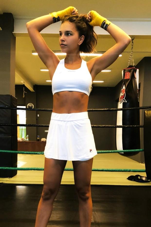 Vídeo mostra Mariana Rios detonando na luta (Foto: Reprodução/Instagram)