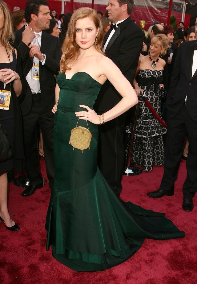 Amy Adams de Proenza Schouler no Oscar de 2008 (Foto: Getty Images)