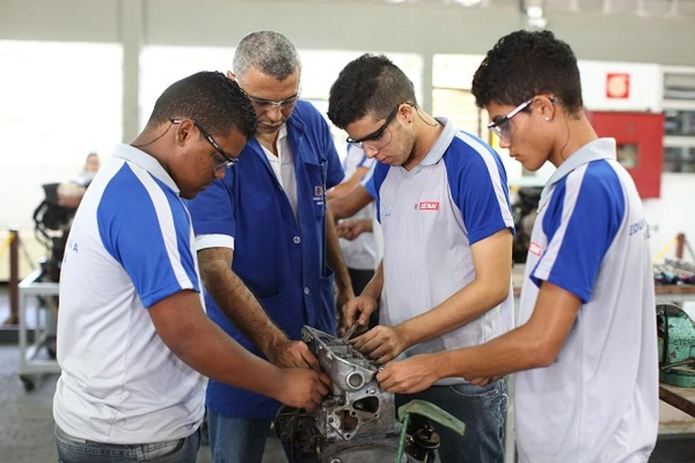 ca4f373c9349 Estão abertas inscrições para o processo seletivo de cursos gratuitos  oferecidos pelo Senai da Paraíba.
