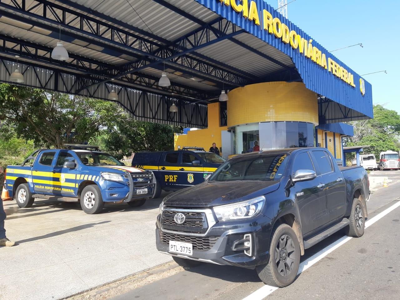 PRF prende médico com caminhonete clonada na BR-316 no Maranhão - Notícias - Plantão Diário