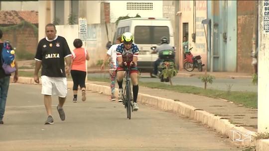Ciclista maranhense leva projeto ao presidente dos Estados Unidos