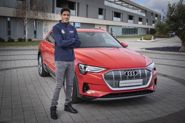 Audi e-tron Real Madrid (Foto:  Divulgação)