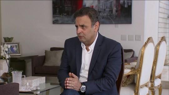 Executivos citam propina de R$ 110 milhões a Aécio para compra de apoio político