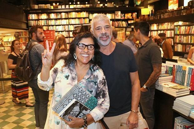 Lulu Santos e Regina Case (Foto: Rogerio Fidalgo/ AgNews)