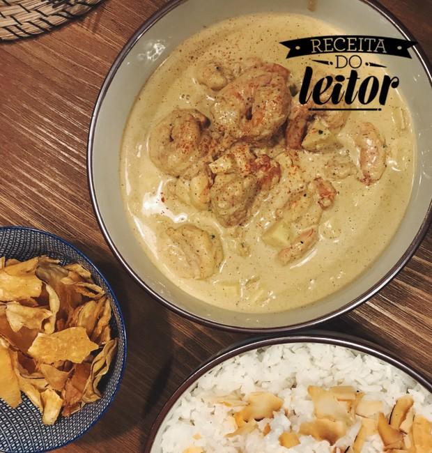 Camarão ao Curry (Foto: Maria Musa/Divulgação)