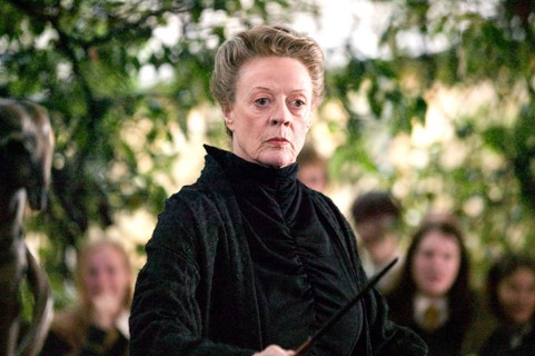 Minerva McGonagall (Maggie Smith) - Harry Potter