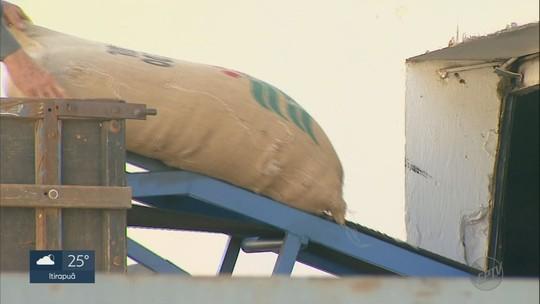 Onze mil sacas de café somem do depósito de cooperativa em Patrocínio Paulista, SP