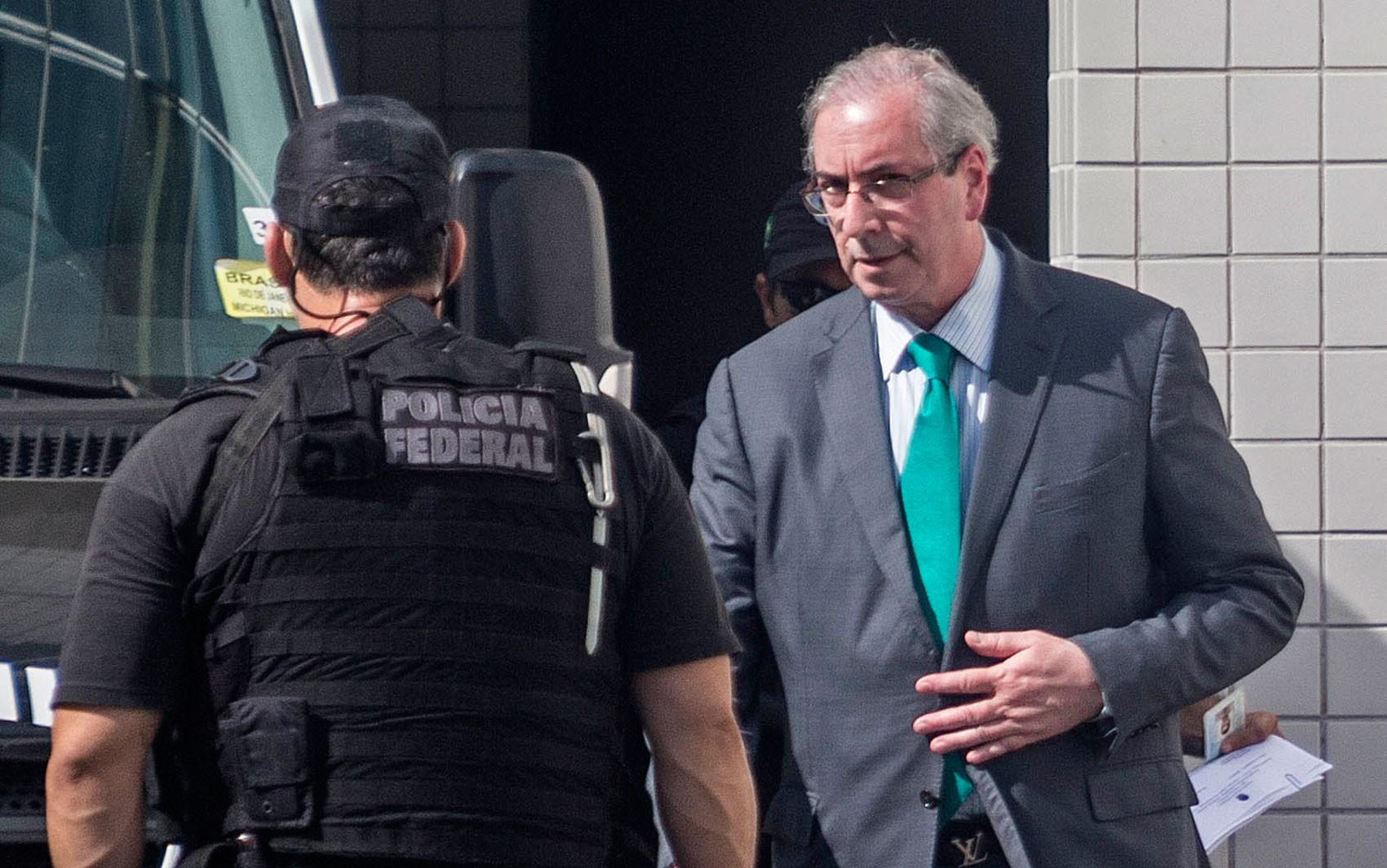 TRF-4 nega pedido de habeas corpus a ex-presidente da Câmara dos Deputados Eduardo Cunha