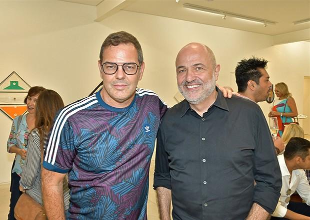 Rodrigo Trussardi e Jayme Bernardo (Foto: Juan Guerra/ Divulgação )