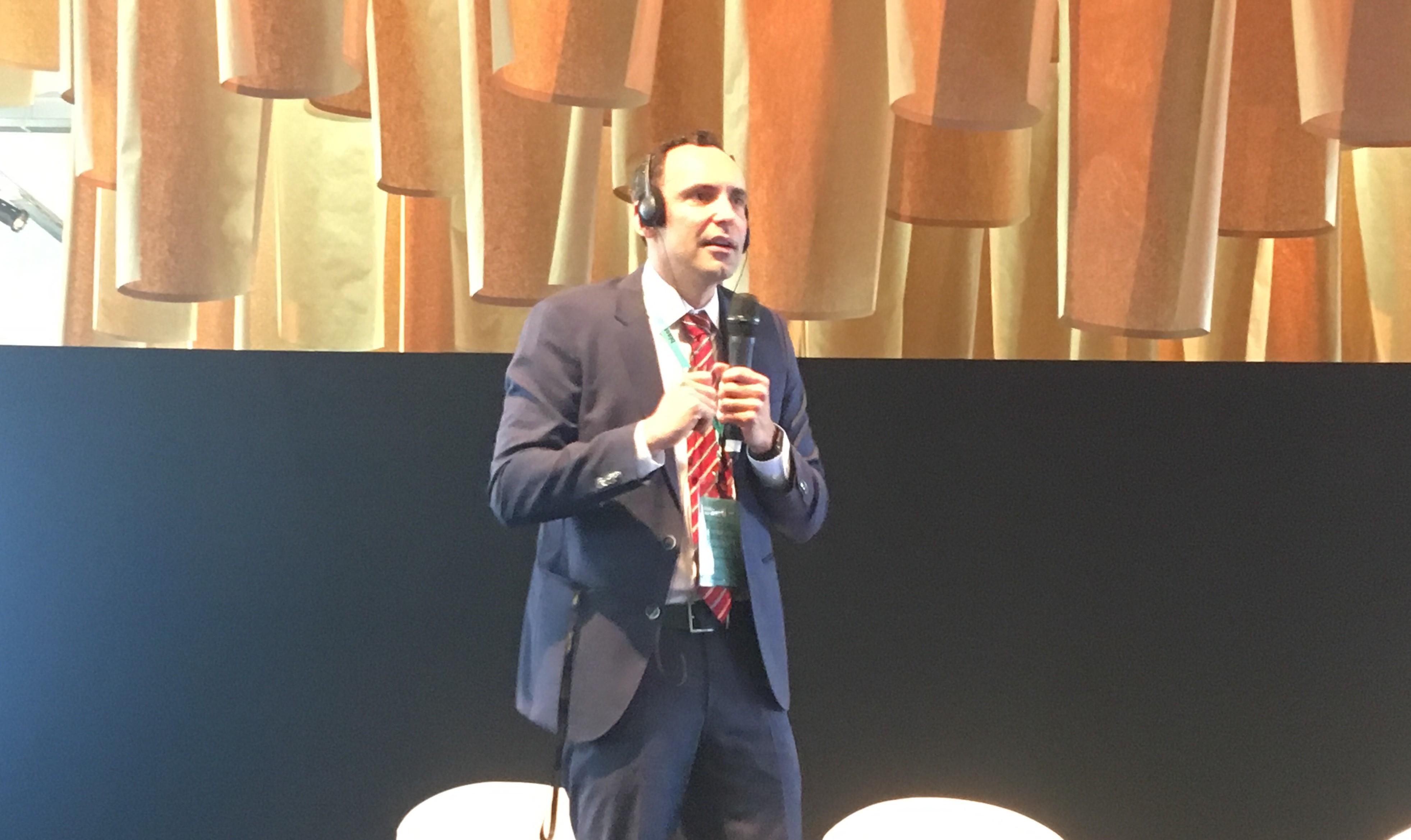 João Bosco durante palestra no BlastU (Foto: Carina Brito)