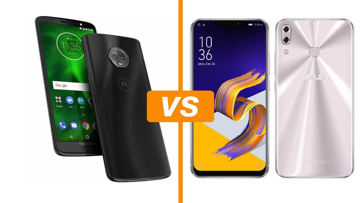 4318bfa01 Moto G6 Plus vs Zenfone 5 (2018)  compare os celulares com câmera dupla