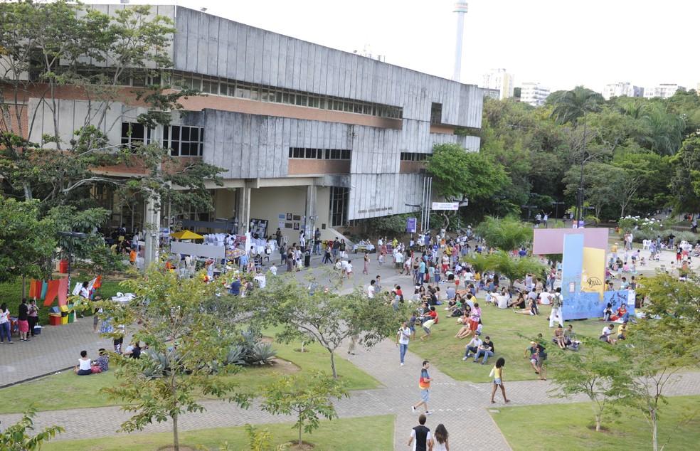 Campus da Ufba — Foto: Reprodução/ TV Bahia