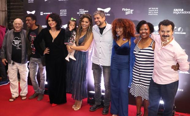 """O elenco de """"Correndo Atrás"""" (Foto: Daniel Pinheiro/AgNews)"""