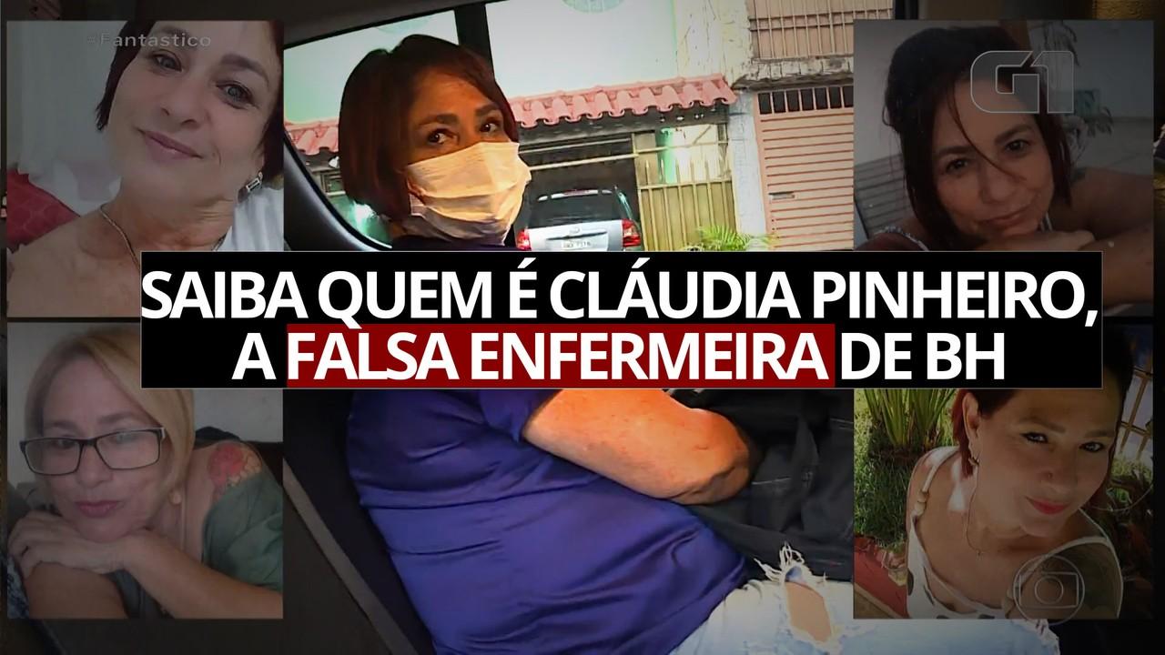 Vídeo: saiba quem é Cláudia Pinheiro, a falsa enfermeira de BH