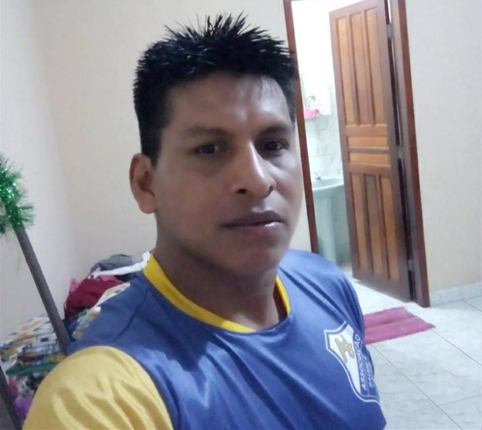 Edson Onaezokae, de 31 anos, era um índio da aldeia Formoso, em Tangará da Serra (Foto: Facebook/Reprodução)