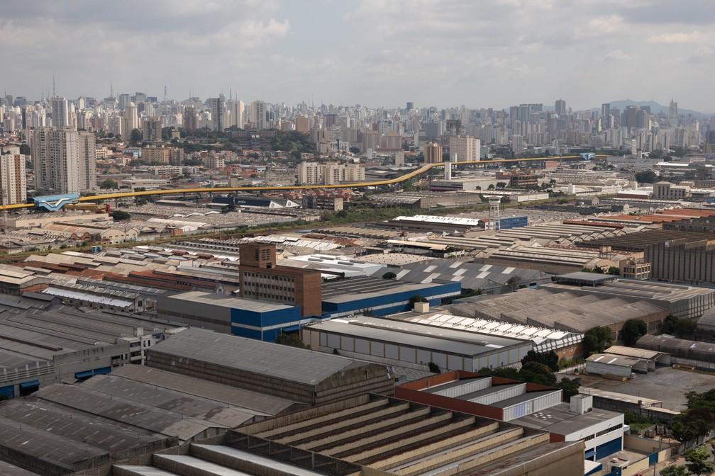 Mooca é marcada pelo passado industrial e pelo comércio de roupas. Região é uma das mais áridas da cidade de São Paulo. Foto: Marcelo Brandt/G1.