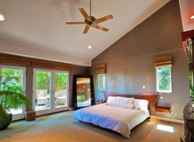 Os detalhes em bambu fazem com que a casa ganhe um estilo tropical (Foto: Getty Images/ Reprodução)