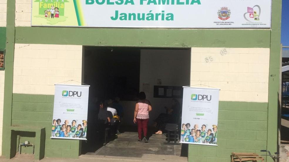 Atendimentos serão realizados na sede do Bolsa Família — Foto: DPU/Divulgação