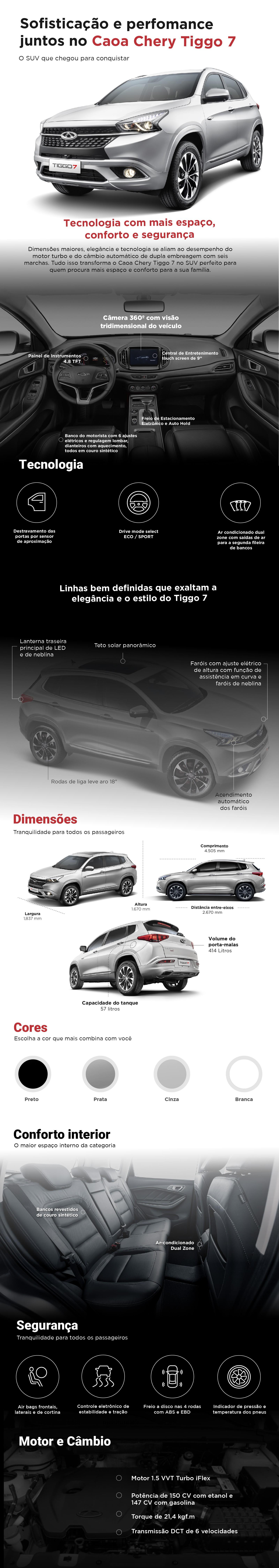 Conheça no AutoEsporte o novo SUV da Caoa Chery, o Tiggo 7 - Notícias - Plantão Diário