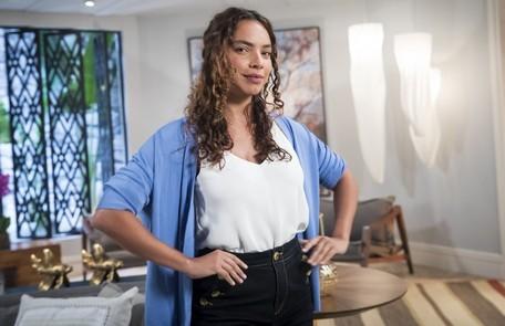 Gabriela Moreyra entrará na novela como Aurora, sobrinha de Lúcia (Cristina Pereira) que irá morar com a tia e se tornará grande amiga de Renzo (Rafael Cardoso) TV Globo