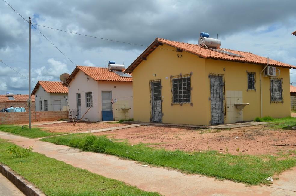 -  Construção de casas de conjunto habitacional será financiada pelo   39;Minha Casa, Minha Vida  39;  Foto: Adonias Silva/G1