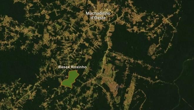 Famílias que invadiram unidade de conservação desocupam área quase 30 dias depois em Machadinho, RO - Noticias