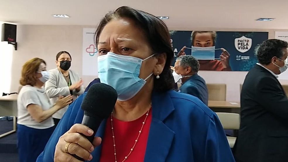 Fátima Bezerra (PT), governadora do Rio Grande do Norte — Foto: Igor Jácome/g1