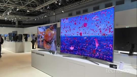 Samsung anuncia TV S UHDTV  com personalização especial para o Brasil