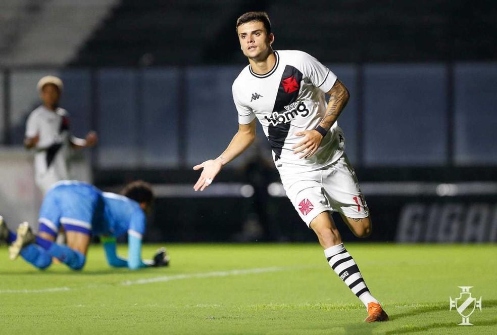 Gabriel Pec foi um dos destaques do título do Vasco na Copa do Brasil Sub-20 — Foto: Rafael Ribeiro/Vasco