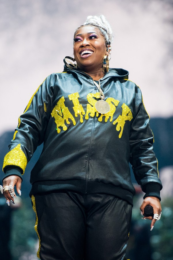 Missy Elliott durante o show no MTV Video Music Awards de 2019. (Photo by John Shearer/Getty Images) (Foto: Getty Images)