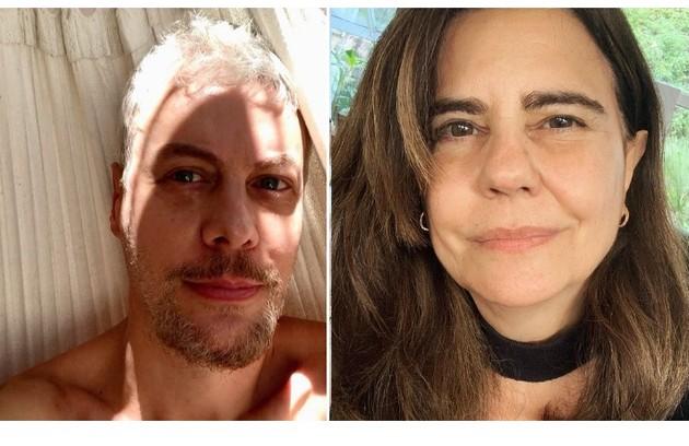 Guilherme Weber contou no programa de Porchat que Mayara Magri era sua 'crush' quando mais jovem (Foto: Reprodução)