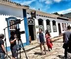 Rafael Cardoso e Letícia Persiles gravam 'Espelho da vida' | Reprodução Instagram
