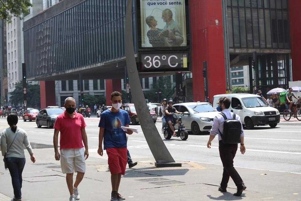 Avenida Paulista na manhã da última terça (21). Renato S. Cerqueira-Futura Press-Estadão Conteúdo