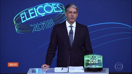 Candidatos à Presidência participaram na Globo do último debate eleitoral