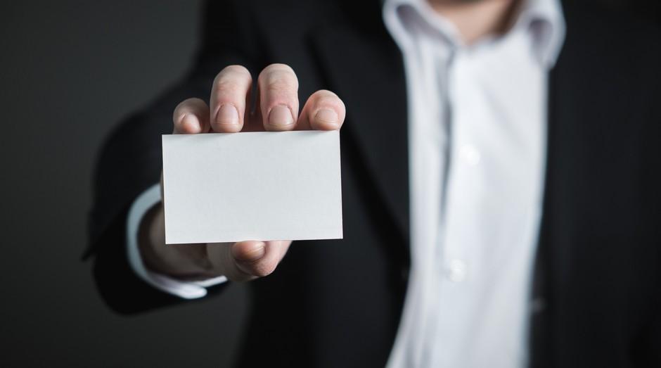 empresário, cartão (Foto: Reprodução/Pexels)